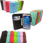 HW Luxury Card Flip Wallet Leather Case TPU Cover Book For Multi Phone Model