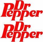 2x Large Dr Pepper Stickers,Burger/Catering Trailer Stickers/Ice Cream Van Decal