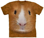 Guinea Pig Face Adult  Animals Unisex T Shirt The Mountain