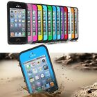 For Apple iPhone 5 5th Waterproof - Shockproof Dirt Dust Proof Hard Cover Case.