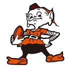 Cleveland Browns Brownie Elf 10x12,17x20 Decal/Sticker Car Truck Cornhole Boards on eBay