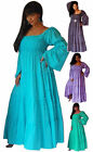 Ruffle Bodice Boho Chic Maxi Peasant Dress 6 8 10 12 14 16 18 20 22 24 Stunning