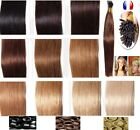 50, 100, 150 EXTENSIONS POSE A FROID CHEVEUX 100% NATURELS QUALITE REMY 53 CM