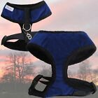 ♥ kuschliges alvonja Hundegeschirr FED ♥ Softgeschirr deepblue in XS - XL