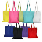 High quality 140gsm coloured cotton canvas eco tote bags
