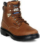 "Georgia 6"" Farm & Ranch Comfort Core Waterproof Boots G6503"
