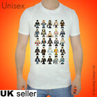 Inspired Movie T-shirt Film Tshirt 8 Bit Retro Cult 80s Pixel Christmas Xmas Top