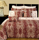 12pc Luxury Bed in a Bag Hampton Royalty Design with Duvet Cover & Comforter