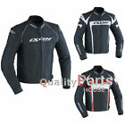 IXON Fueller Cow Leather Jacket Motorcycle Motorbike w Winter Lining & CE Armour