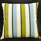 LL311a Beige Brown Aqua Pure Cotton Canvas Fabric Cushion Cover/Pillow Case