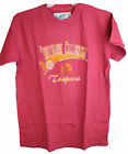 NCAA USC Trojans Men's Distressed Logo Tee Shirt High Quality Assorted Sizes
