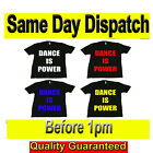 DIVERSITY DANCE IS POWER T SHIRTS Original T Shirt Fruit of the Loom Full Cut