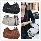 NEW HOT Korean Lady Faux Leather Handbag Fold Hobo Tote Bag Womens Fashion Purse
