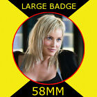 Sharon Stone 1 - 58MM - FRIDGE MAGNET OR BADGE OR HANDBAG MIRROR #CD1245
