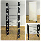 10 TIER SHELF SHOE RACK ORGANIZER STAND CUPBOARD FOR 30 PAIR SHOES WITH COVER