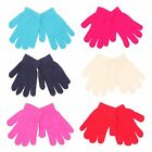 12 pairs x Kids Winter Warm Magic Gloves WHOLESALE JOB LOT BULK BUY TRADE