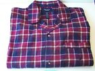201 Nautica Mens Sleepwear Mens Pajama Top Cotton Sizes M & L