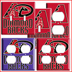 NEW ARIZONA DIAMONDBACKS BASEBALL MLB COVER PLATE COMBO