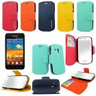 Samsung Galaxy S2 Epic 4g Touch D710 Slim Fit PU Leather Wallet Flip Pocket Case