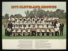 1973 CLEVLAND BROWNS TEAM PHOTO 9 X 12 VINTAGE RARE