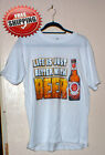"New Funny Humor Drinking Men's T Shirt ""Life Is Better With Beer "" Asst Sizes"