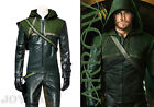 Green Arrow Oliver Queen Cosplay Costume Halloween Clothing Customized