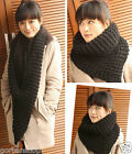 Winter Knitted Womens Woman Scarf Muffler Necker chief Wrap Body Warmer Gift