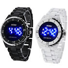 Ceramics Fashion Blue LED Light Waterproof Electronic Wrist Watches Watch Skmei