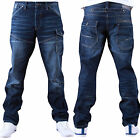 """Voi Jeans Industry New  Mid Mens Mid Wash Designer Jeans Size 28,30,32,34,36"""" W"""