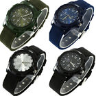 New Fashion Racing Force Military Sport Fabric Nylon Band Army Wrist Watch