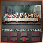 The Last Supper Religion Jesus Christian Wall Art Deco Canvas Box ~ 1 Panel