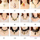 New Fashion Style Retro Gothic Lolita Collar Choker Pendant Necklace Jewelry