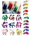 A Pack of Feathers for Nail Art Craft Nail Tips Designs More Colours Choices New