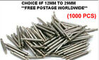 1000 x watch spring bars /link pins leather/ rubber/steel/band/strap bracelets