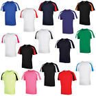 New AWDs Just Cool Mens Sports Fitness T Shirt 12 Contrast Colours S M L XL XXL