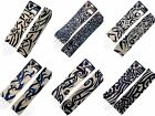 NEW 1 PAIR TRIBAL PATTERN TEMPORARY FAKE TATTOO STRETCHY CLOTH ARM SLEEVES