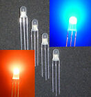10-1000 Duo-LED 5mm rot-blau sehr hell, diffuses weißes Gehäuse, diffus Neu RoHS