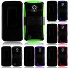 For ZTE Majesty Z796C/ZTE Source N9511 Side Stand Holster Cover Case + LCD