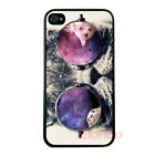 Fashion Cute Cool Cat Back Rigid Shell Case Cover Skin For iPhone 4 4G 4S