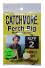 Catchmore Perch Rig, 3 Packs of SAME Color/Size, Tangle-Free, Pan/Gamefish #PR