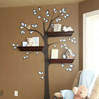 Shelving Tree Wall Decal sticker Functional Tree can use to install wall shelf