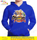 FELPA  DRAGON BALL GOKU SSJ3 CARTOON CAPPUCCIO E TASCONE BAMBINO