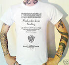 Much Ado About Nothing Title Page T-Shirt 1600 Shakespeare Theatre Classic