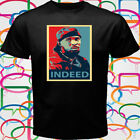 The Wire Omar Indeed Men's Black T-Shirt Size S to 3XL image