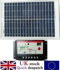 20w 25w 40w 50w PV Solar Panel with 10A PWM Charger Controller for 12v Batttery