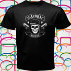 New La Coka Nostra LCN American Hip Hop Men's Black T-Shirt Size S to 3XL