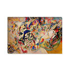Composition VII Wassily Kandinsky Canvas Print Painting Reproduction