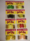 "1-1/2"" Betts Twist Tail Grub Worm, (3) Packs of 10, Choose Your Color  #121CT-10"