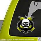 Scuba Diver Skull Decal Stickers 2 Pack Diving Gear Stickers