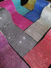 24 Row Diamante Ribbon for Cards, Crafts, Scrapbooks 1 metre choice of colours